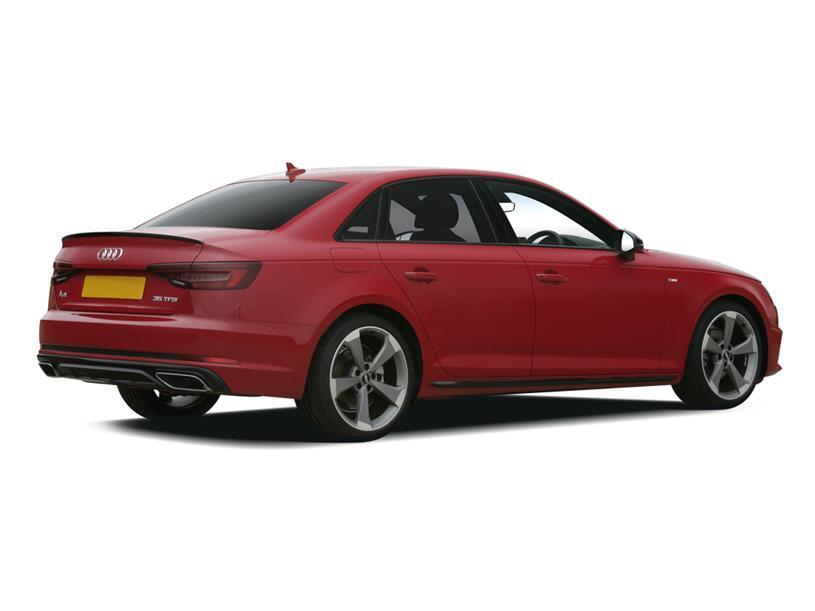 Audi A4 Saloon 40 TFSI 204 Black Edition 4dr S Tronic [C+S]