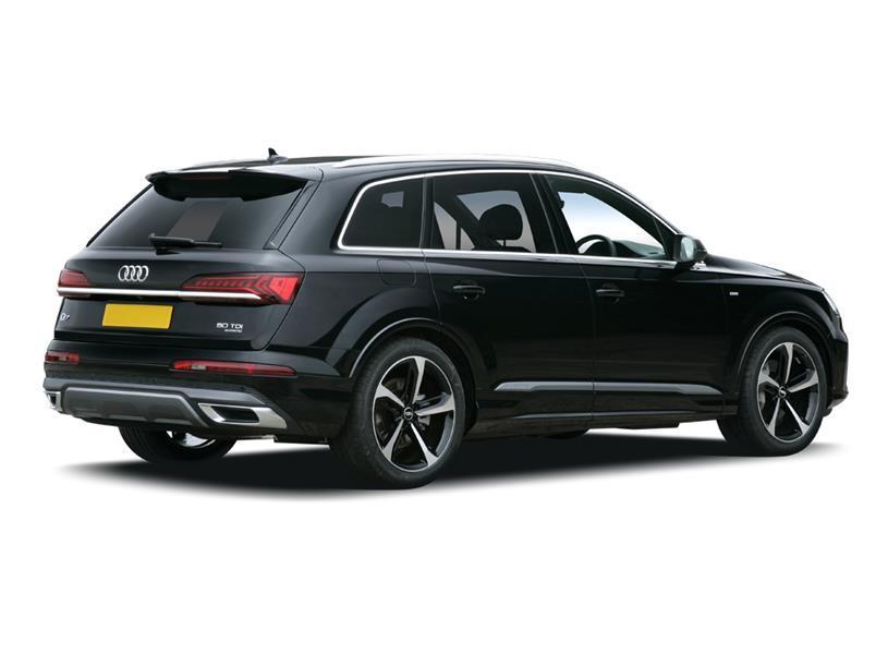 Audi Q7 Estate SQ7 TFSI Quattro Black Edition 5dr Tiptronic [C+S]