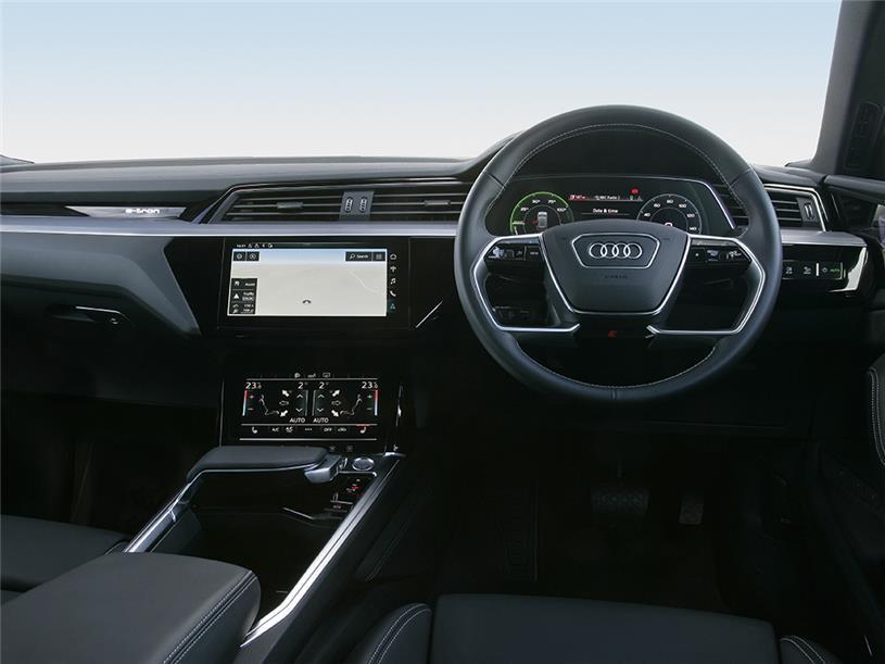 Audi E-tron Sportback 230kW 50 Quattro 71kWh Black Edition 5dr Auto