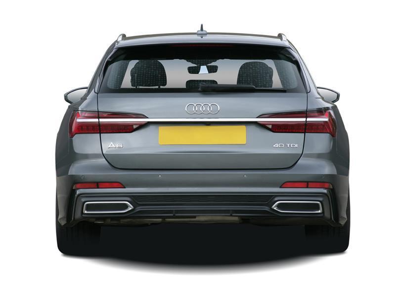 Audi A6 Diesel Avant 40 TDI Quattro Black Edition 5dr S Tronic [C+S]